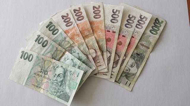 srovnané bankovky
